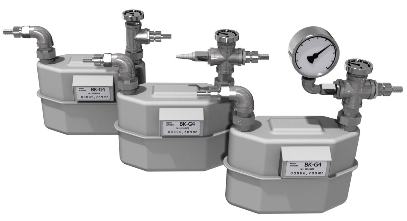 Dry Gas Meter : Dry gas meter bk paul gothe gmbh